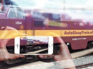 AutoSlaapTrein locomotief